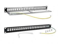 Патч-панель наборная Lanmaster TWT-PP24OK-STP 19 1U 24xRJ45