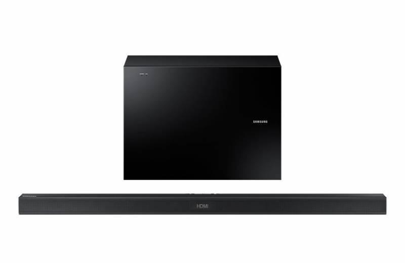 Звуковая панель Samsung HW-J550/RU 2.1 черный - фото 2