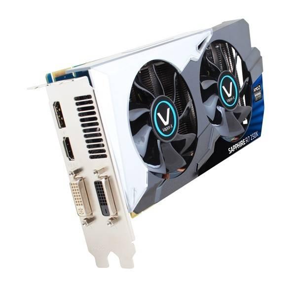 Видеокарта Sapphire Radeon R7 250X VAPOR-X OC 1024 МБ (11229-01-10G) - фото 1