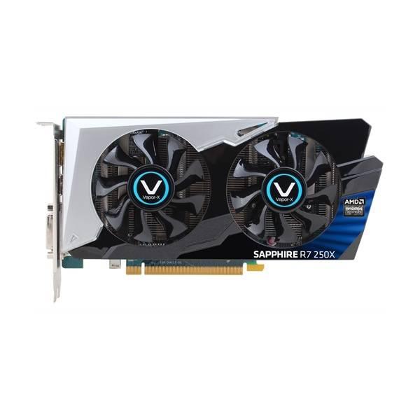 Видеокарта Sapphire Radeon R7 250X VAPOR-X OC 1024 МБ (11229-01-10G) - фото 2