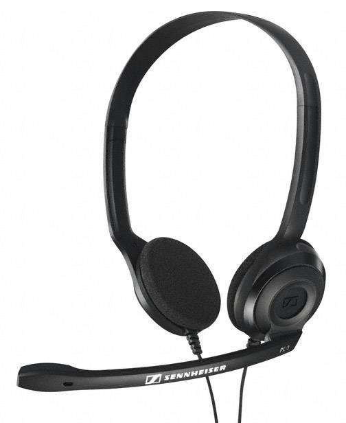 Наушники с микрофоном Sennheiser PC 3 CHAT черный - фото 1