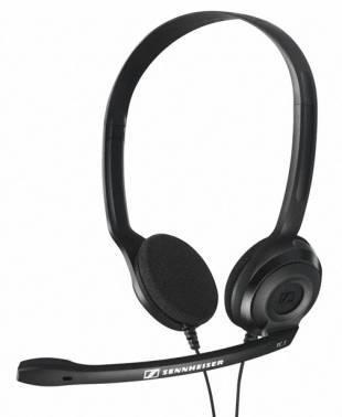 Наушники с микрофоном Sennheiser PC 3 CHAT черный (504195)
