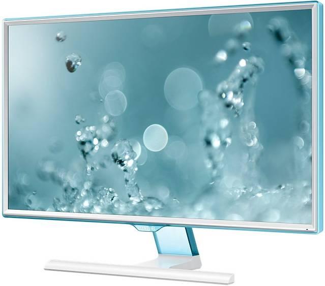 """Монитор 23.6"""" Samsung S24E391HL белый (LS24E391HLO/RU) - фото 2"""