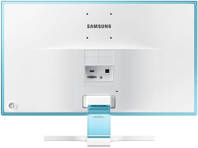 """Монитор 23.6"""" Samsung S24E391HL белый (LS24E391HLO/RU) - фото 4"""