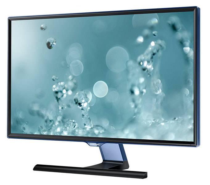 """Монитор 23.6"""" Samsung S24E390HL черный (LS24E390HLO/RU) - фото 4"""
