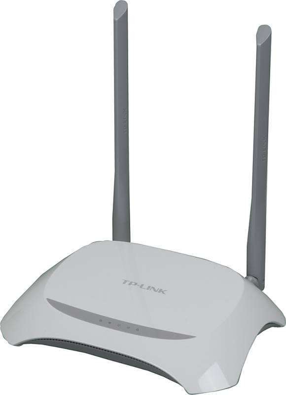 Беспроводной маршрутизатор TP-Link TL-WR840N белый - фото 1