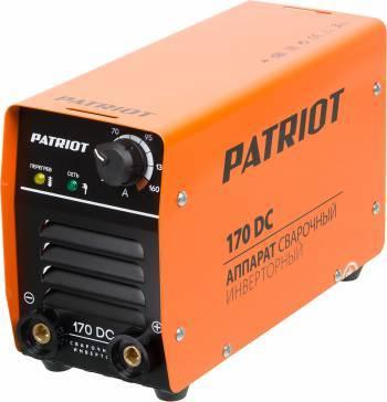 Сварочный аппарат Patriot 170DC MMA (605302516)