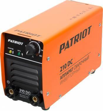 Сварочный аппарат Patriot 210DC MMA (605302518)