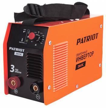 Сварочный аппарат Patriot 250DC MMA (605302521)