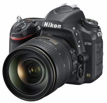 Фотоаппарат Nikon D750 1 объектив черный