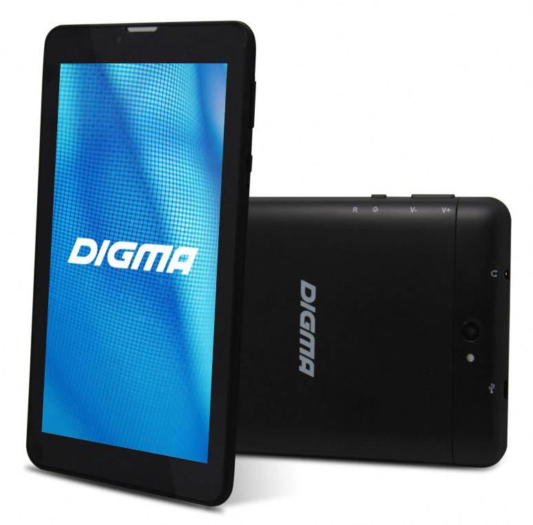 """Планшет 7"""" Digma Optima 7.08 3G 4ГБ темно-синий - фото 3"""