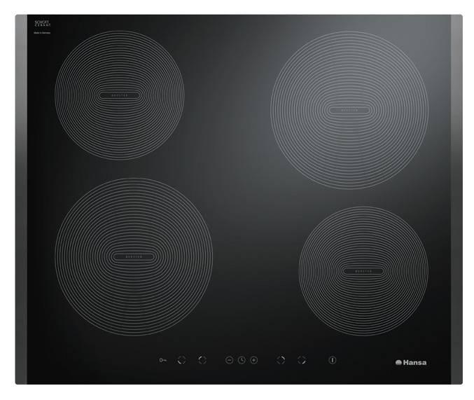 Варочная поверхность Hansa BHI68308 черный - фото 1