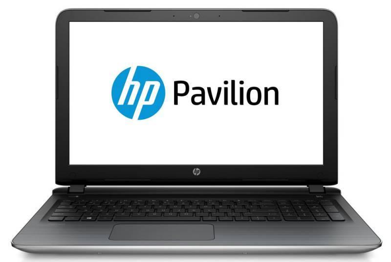 """Ноутбук 15.6"""" HP Pavilion 15-ab006ur серебристый - фото 1"""