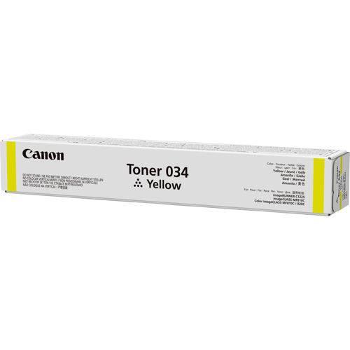 Тонер для копира Canon 034 желтый (9451B001) - фото 1