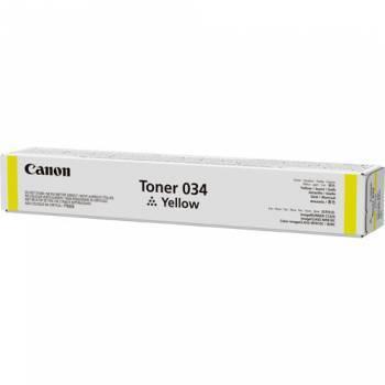Тонер для копира Canon 034 желтый (9451B001)