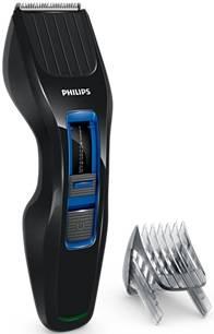 Машинка для стрижки Philips HC3418/15 черный/синий