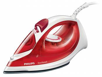 Утюг Philips GC1029 красный / белый