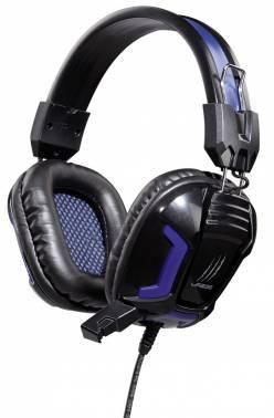 Наушники с микрофоном Hama uRage SoundZ Essentia черный (00113744)