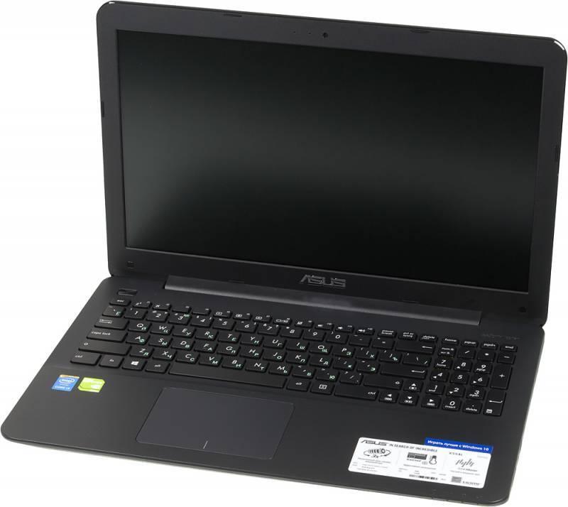 """Ноутбук 15.6"""" Asus X554LJ-XO518H (90NB08I8-M06800) черный - фото 1"""