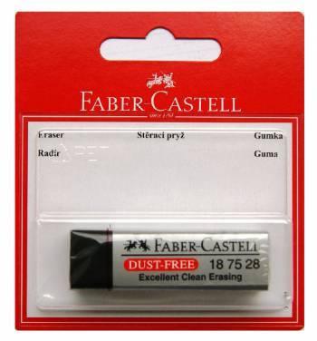 Ластик Faber-Castell DUST FREE 263424 черный в блистере