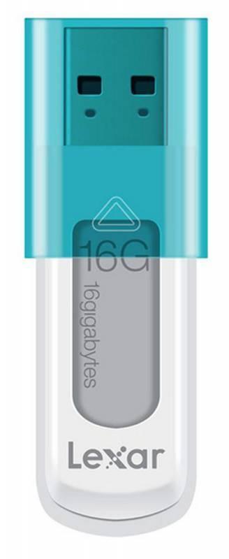 Флеш диск Lexar JumpDrive S50 16ГБ USB2.0 белый - фото 1