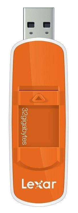 Флеш диск Lexar JumpDrive S70 32ГБ USB2.0 оранжевый - фото 1