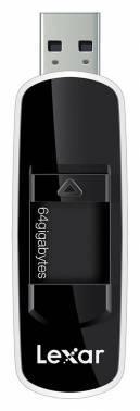 Флеш диск 64Gb Lexar JumpDrive S70 USB2.0 черный