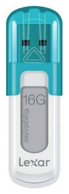 Флеш диск Lexar JumpDrive V10 16ГБ USB2.0 голубой - фото 1