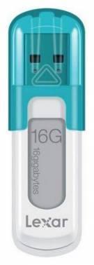 Флешка Lexar JumpDrive V10 16ГБ USB2.0 голубой (LJDV10-16GABEU)