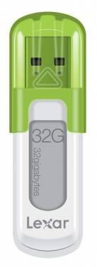 Флеш диск 32Gb Lexar JumpDrive V10 USB2.0 зеленый
