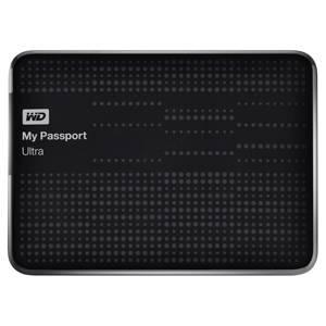 Внешний жесткий диск 1Tb WD WDBDDE0010BBK-EEUE My Passport Ultra черный USB 3.0