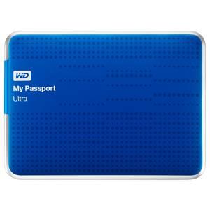 Внешний жесткий диск 1Tb WD WDBDDE0010BBL-EEUE My Passport Ultra синий USB 3.0