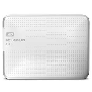 Внешний жесткий диск 1Tb WD WDBDDE0010BWT-EEUE My Passport Ultra белый USB 3.0