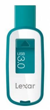 Флеш диск 16Gb Lexar JumpDrive S25 USB3.0 белый / голубой