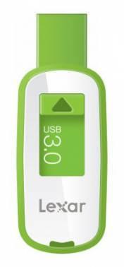 Флеш диск 32Gb Lexar JumpDrive S25 USB3.0 белый / салатовый