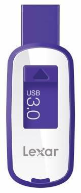 Флеш диск Lexar JumpDrive S25 64ГБ USB3.0 белый/фиолетовый (LJDS25-64GABEU)