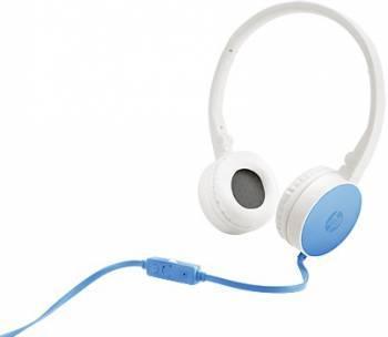 Гарнитура HP H2800 HP Stereo Headset White Headset Ocean Blue