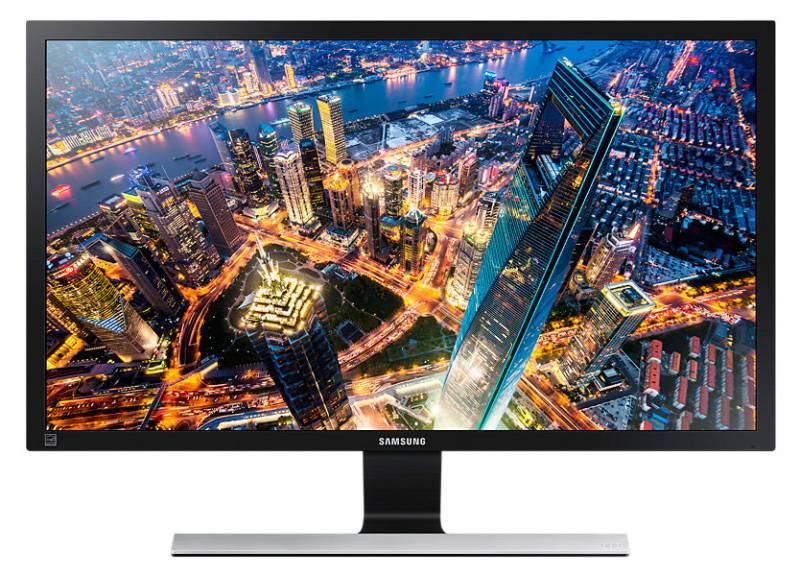 """Монитор 23.5"""" Samsung U24E590D черный (LU24E590DS/CI) - фото 1"""