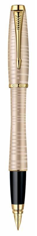 Ручка перьевая Parker Urban Premium F206 Vacumatic Golden Pearl (1906852) - фото 1