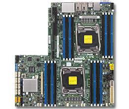 Серверная материнская плата Soc-2011 SuperMicro MBD-X10DRW-I-O