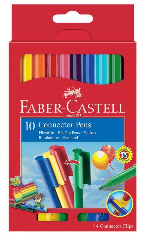 Фломастеры Faber-Castell Eberhard Faber 10цв. (155510) - фото 1