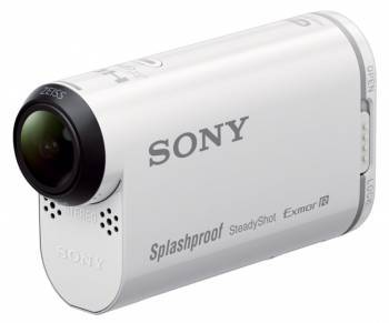 Экшн-камера Sony HDR-AS200V белый (HDRAS200V.AU2)