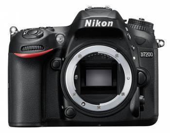 Фотоаппарат Nikon D7200 Body черный