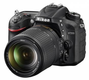 Фотоаппарат Nikon D7200 1 объектив черный