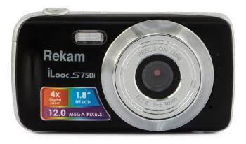 Фотоаппарат Rekam iLook S750i черный (1108005091)