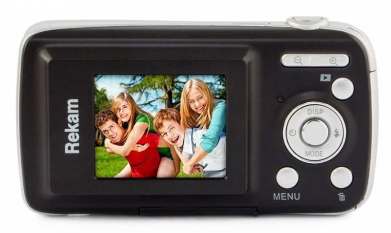 Фотоаппарат Rekam iLook S750i черный (1108005091) - фото 2