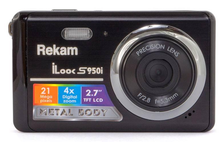 Фотоаппарат Rekam iLook S950i черный - фото 1