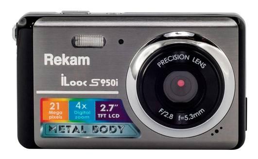 Фотоаппарат Rekam iLook S950i темно-серый - фото 1