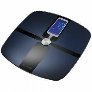 Весы напольные электронные Polaris PWS 1830DGFI черный / синий