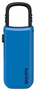 Флеш диск 32Gb Sandisk Cruzer U USB2.0 синий / черный